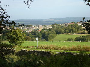Castleside - Looking north-east over Castleside