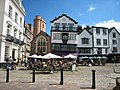 """Cathedral Close and """"Mol's Coffee House"""" - geograph.org.uk - 552797.jpg"""
