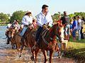 Cavalgada em Santa Rita do Pardo-MS 2014 no Município.JPG