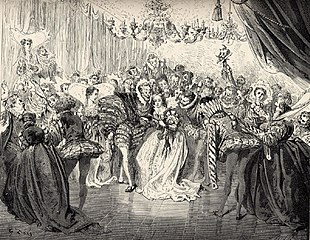 Gustav Dore's illustration for Cendrillon