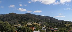 Mount Gulaga and Central Tilba