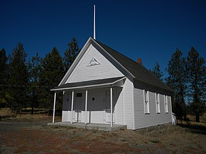 National Register of Historic Places listings in Spokane County, Washington - Image: Central Schoolhouse NRHP 92001040 Spokane County, WA