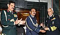 Ceremonial handing over of Chairman, Chiefs of Staff Committee baton from Arup Raha to Sunil Lanba (7) (cropped).jpg