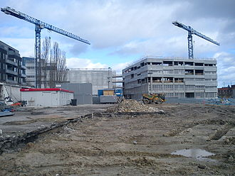 Ceres Brewery - Construction at the Ceres grounds (2014).