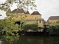 Château de Losse - Vue depuis la Vézère 04.JPG