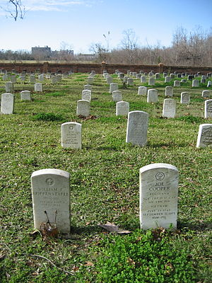 Chalmette National Cemetery - Graves at the cemetery