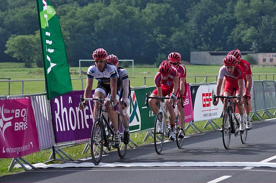 Championnat de France de cyclisme handisport - 20140614 - Course en ligne catégorie B