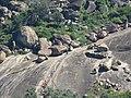 Chandragiri hills from Vindhyagiri - Shravanabelagola (13).jpg
