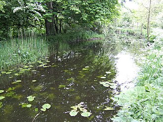 River Boyne - Section of the Boyne canal which runs parallel to the main river around the Battle of the Boyne site west of Drogheda.