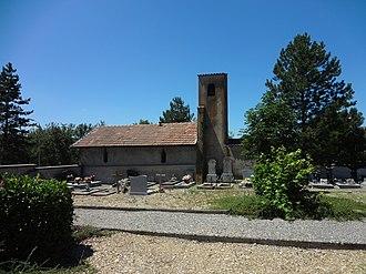 Aiglun, Alpes-de-Haute-Provence - Image: Chapelle Aiglun mur nord