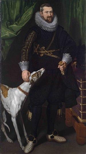 Charles-Alexandre de Croÿ Marquis d'Havré and Duc de Croÿ.