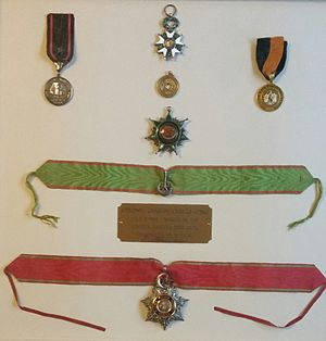 Charles Chaillé-Long - Charles Chaillé Long's Medals