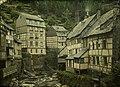 Charles Corbet, View of Monschau - c. 1910, autochrome 9 x 12.jpg