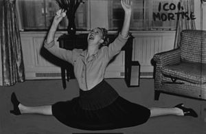 Charlotte Greenwood - Charlotte Greenwood was known for being a very limber performer.