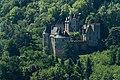 Chateau de Fayrac vue depuis le Château de Beynac Dordogne 22.jpg