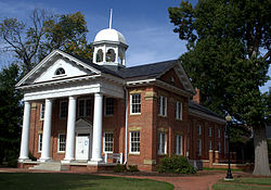 Historic Chesterfield Courthouse at Courthouse Square