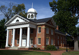 Chesterfield County, Virginia - Image: Chesterfield Historic Courthouse