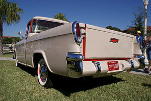 Pickup truck - 1956 Chevrolet Cameo with smooth sided bed