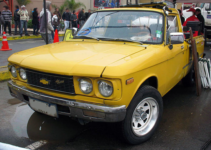 Chevrolet Luv 1600 Deluxe pickup truck 1980 from wiki commons
