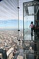 "Chicago (ILL) Willis Tower ( Ex. SEARS Tower ) 1974, west side, "" Skydeck "" (4800798672).jpg"