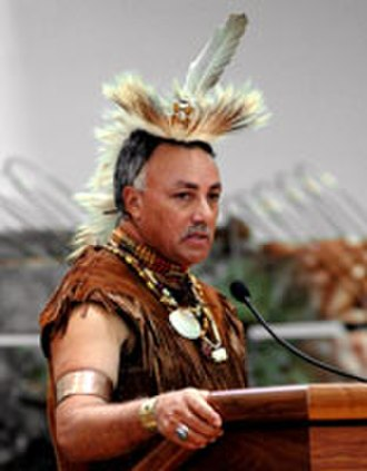 Chickahominy people - Wayne Adkins, a member of the Chickahominy Tribe, represents the tribe in the UK.