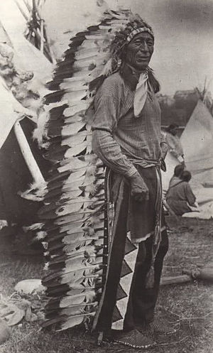 Iron Tail - Chief Iron Tail was one of the most famous Native American celebrities of the late 19th and early 20th centuries. Professional photographers circulated his image across the continents.