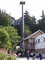 Chief Johnson totem pole replica in Ketchikan, Alaska.jpg