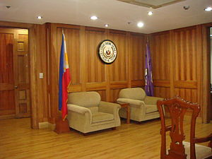 Chief Justice of the Supreme Court of the Philippines - Image: Chiefjusticejf