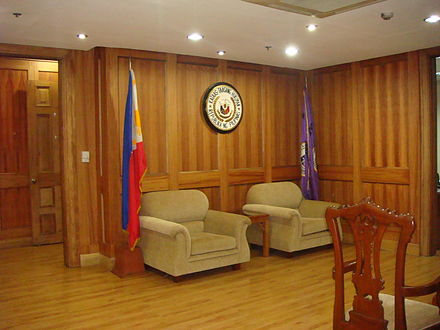 Corona's Judicial Chambers, after the Impeachment Chiefjusticejf.JPG