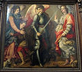Chiesa abbaziale di s. michele a passignano, int., coro, arcangeli di michele di r. del ghirlandaio 01,1.jpg