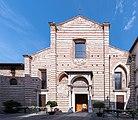 Chiesa di San Giovanni Evangelista facciata principale Brescia.jpg