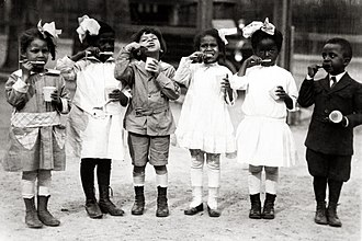 Normal School for Colored Girls - First graders from Miner Normal School, ca. 1910