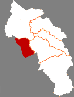 Baiyin District District in Gansu, Peoples Republic of China