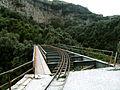 Chirico-Brücke vor Milies.jpg