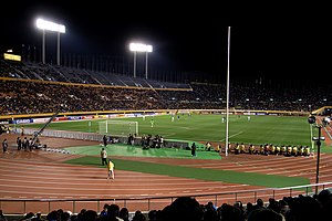 Club América - América in the 2006 FIFA Club World Cup playing against Jeonbuk Hyundai Motors (South Korea)