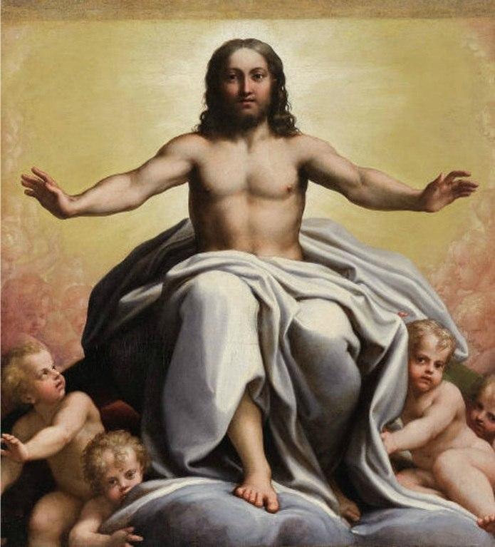 Christ In Glory - Correggio - Pinacoteca Vaticana