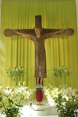 Pepinster - Image: Christ de Tancrémont JPG