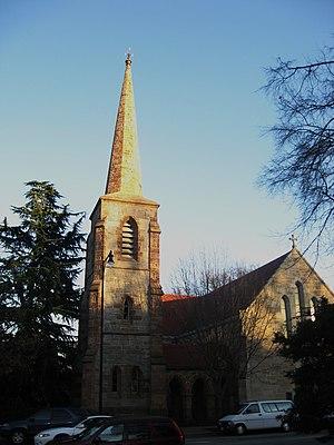 Christ Episcopal Church (Raleigh, North Carolina) - street view of the church