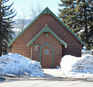 Christian Science Society (Steamboat Springs, Colorado) - Image: Christian Science Society Building