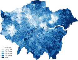 Christianity Greater London 2011 census.png