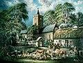 Church and Inn, Llanbadarn Fawr (gcf02088).jpg