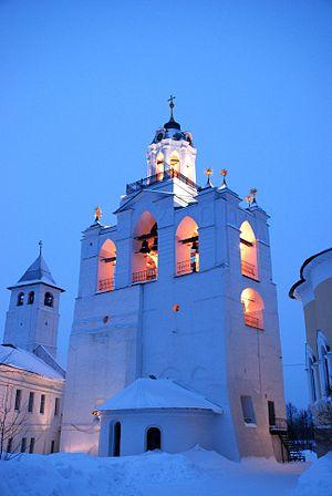 Church in Yaroslavl in the Morning