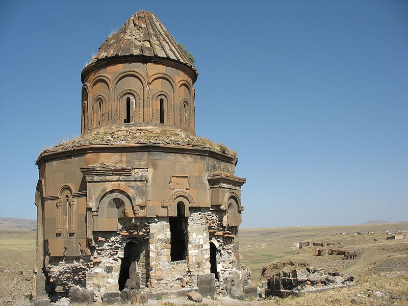 Archivo:Church of Abughamrents Ani 4.JPG