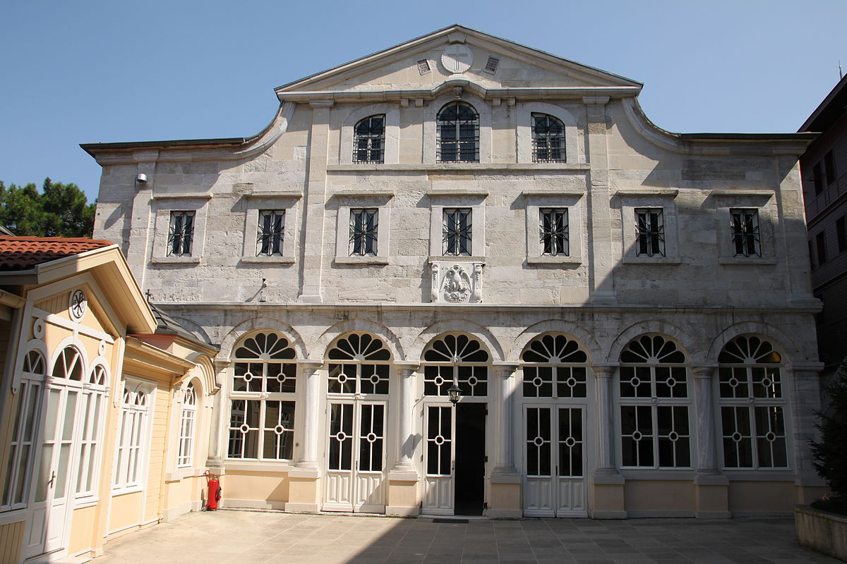 Стамбул церковь георгия победоносца