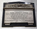 Church of St Mary Hatfield Broad Oak Essex England - Mary Leveson Gower monument.jpg