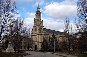 Sisters of Providence of Saint Mary-of-the-Woods - Church of the Immaculate Conception (Saint Mary-of-the-Woods, Indiana)