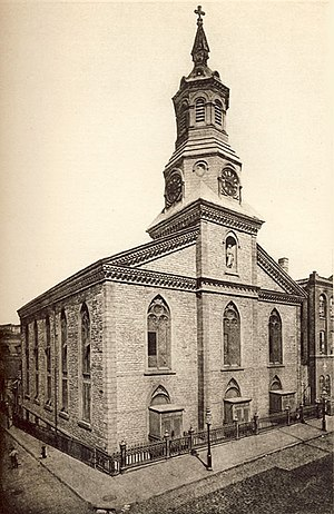 Church of the Transfiguration, Roman Catholic (Manhattan) - Church of the Transfiguration, formerly Zion Protestant Episcopal Church