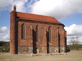Chwarszczany Village in West Pomeranian Voivodeship, Poland