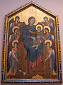 Cimabue, maestà dalla chiesa di san francesco a pisa, 1280 ca..JPG