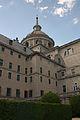 Cimborrio Monasterio desde jardín de los frailes San Lorenzo de El Escorial.jpg
